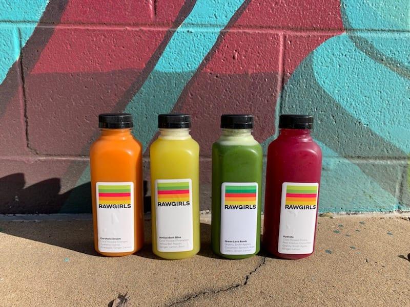 raw girls juice