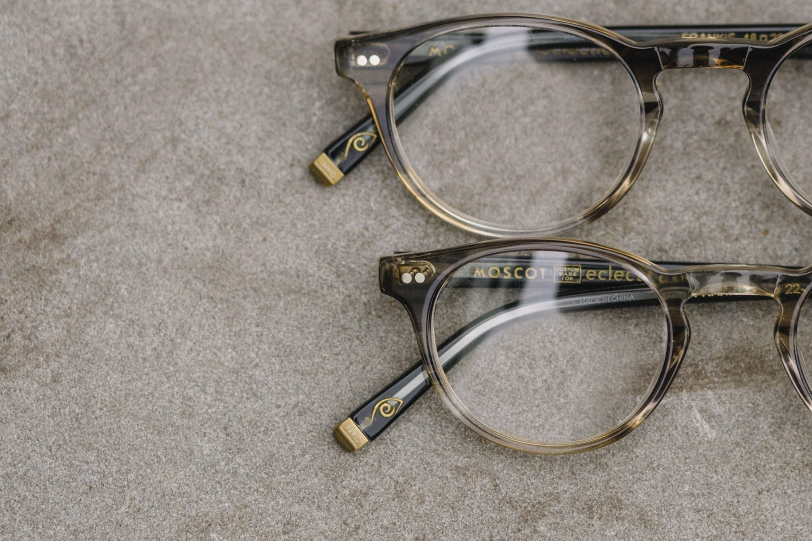 Eclectic Eye - MOSCOT collaboration frame